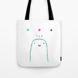 hap color Tote Bag