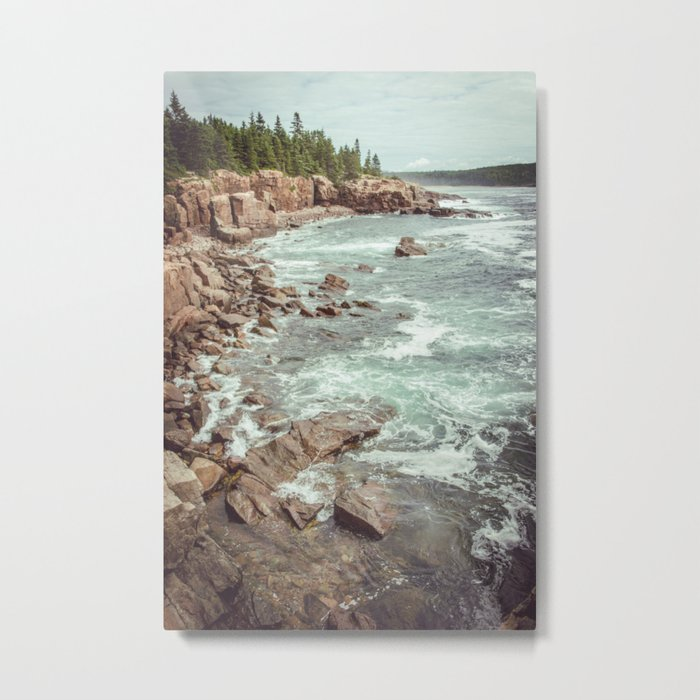 Swirling Sea Metal Print