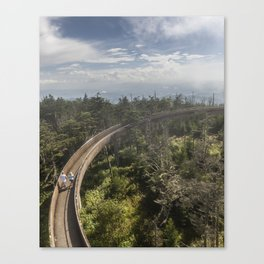 Ramp at Clingmans Dome in the Great Smoky Mountains Canvas Print
