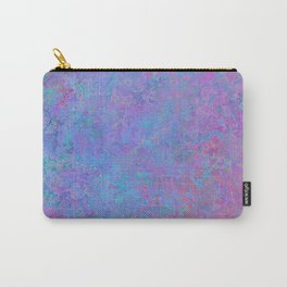 Purple and blue abstract background Carry-All Pouch
