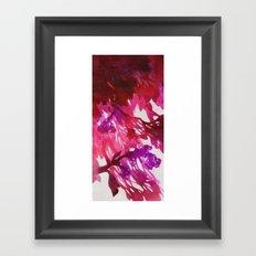 Morning Blossoms 2 - Magenta Variation Framed Art Print