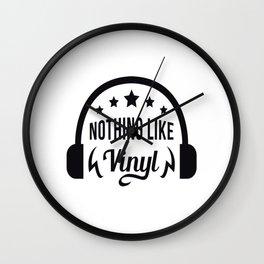 Nothing like vinyl Wall Clock