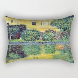 Gustav Klimt Schloss Kammer on the Attersee IV Rectangular Pillow