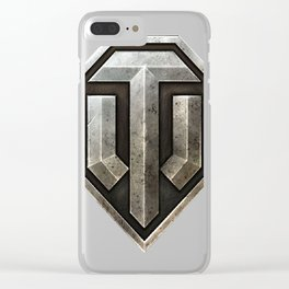World of Tanks Logo Clear iPhone Case