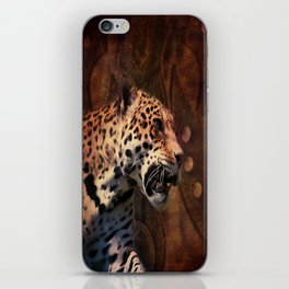 western country rustic wild leopard iPhone Skin
