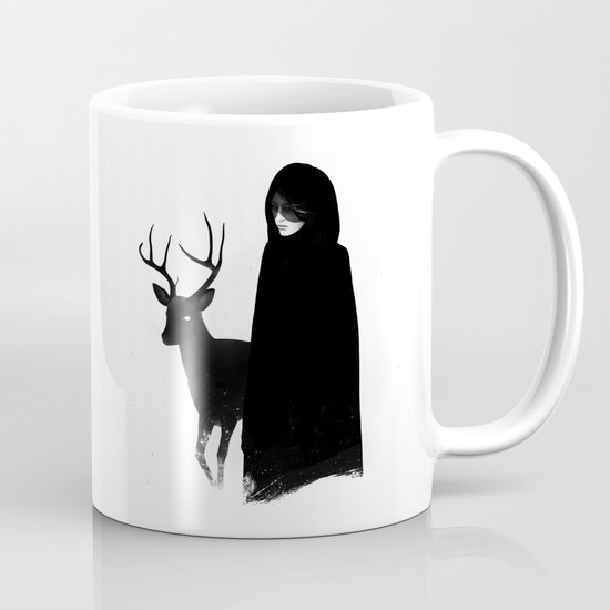 Absentia in white Mug