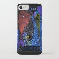 aquarius iPhone & iPod Cases featuring Aquarius by Laura Jean
