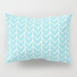 Herringbone Island Paradise Pillow Sham