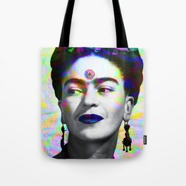 Frida Kahlo iridescence Tote Bag