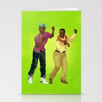 fresh prince Stationery Cards featuring Fresh Prince by Dave Collinson