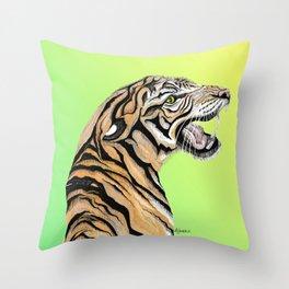 Tiger Totem Throw Pillow