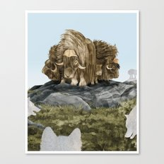 The Wolves Are Closing In Canvas Print