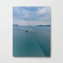 Tug Boat Noumea Metal Print
