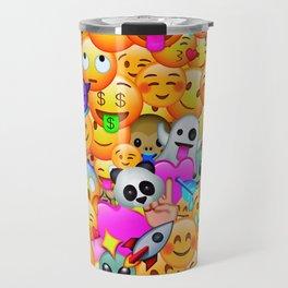 I love Emojis Travel Mug
