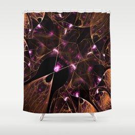 Gossamer Web Shower Curtain