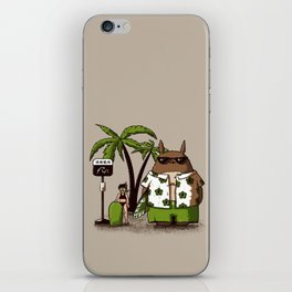 Toto-Beach iPhone Skin