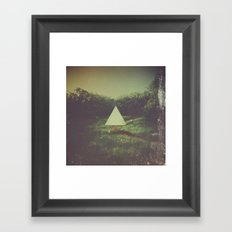 There Is No Path To Follow Framed Art Print