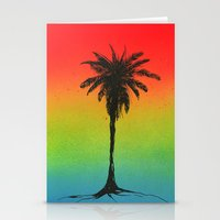 palm Stationery Cards featuring 'Palm'  by Hannah Stouffer