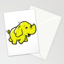 Hadoop Elephant Stationery Cards