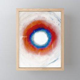 Cosmic Void Black Hole 2 Framed Mini Art Print
