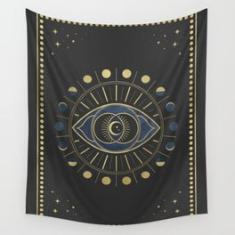 The Third Eye or The Sixth Chakra Wall Tapestry