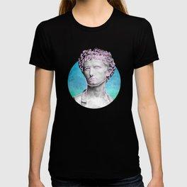 Aesthetic 90's Retro Vaporwave Augustus statue T-shirt