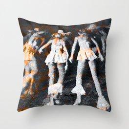 Bailar Cubano Throw Pillow