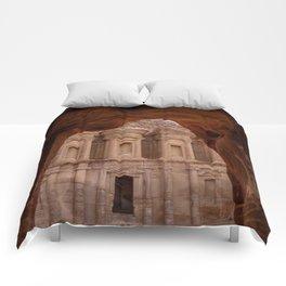 The Treasury at Petra Jordan Comforters