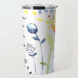 Why Fit in? Travel Mug