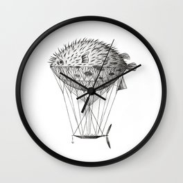 Airfish Express Wall Clock