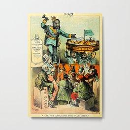 A Liliput Kingdom For Sale Cheap Metal Print