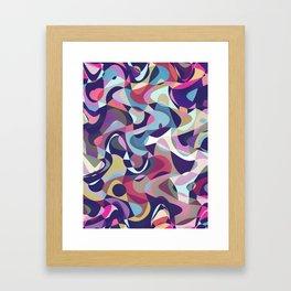 Dark Garden Tumble Framed Art Print