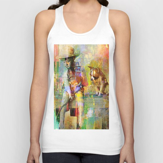Fishing Unisex Tank Top