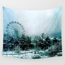 Cold Forest Playground Wall Tapestry