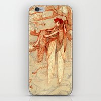 fairy iPhone & iPod Skins featuring fairy by chechula
