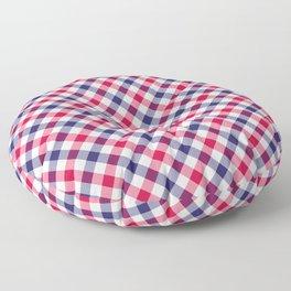 Gingham RWB Floor Pillow