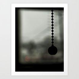 Gloomy Lamp Art Print