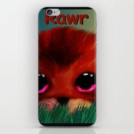 Rawr iPhone Skin