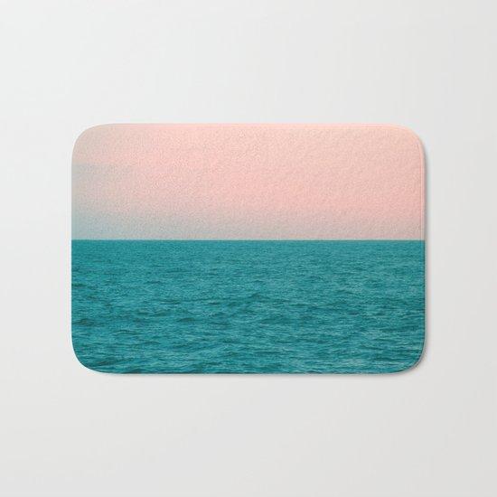 #Turquoise #Sea Bath Mat