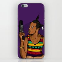 mcfreshcreates iPhone & iPod Skins featuring Loc'd Out by McfreshCreates