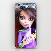 monster high iPhone & iPod Skins featuring Monster High: Howleen Wolf custom from The Blank Flank by Amy McWilliams - The Blank Flank