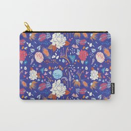 Summer Night Oz Floral Carry-All Pouch