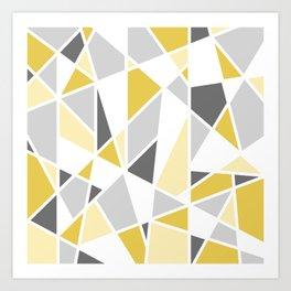 Yellow and Gray Prints