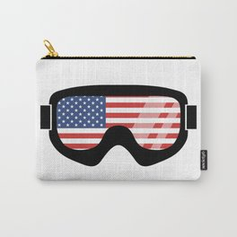 USA Goggles | Goggle Designs | DopeyArt Carry-All Pouch