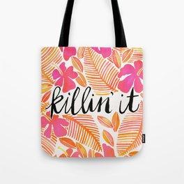 Killin' It – Melon Ombré Tote Bag