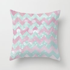 Chevron Mix Throw Pillow