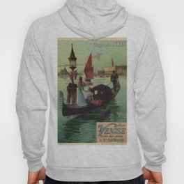 Paris Venice Victorian romantic travel Hoody