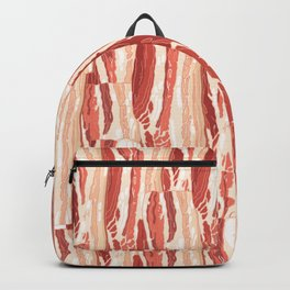 Bacon pattern Backpack