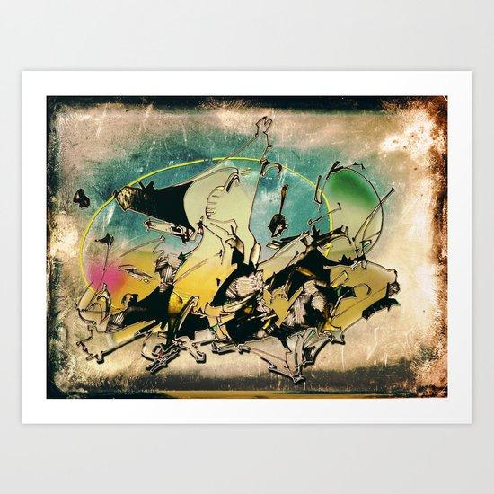 OCEAN 2009 Art Print