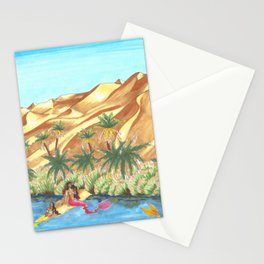 A Mermaid Oasis Stationery Cards